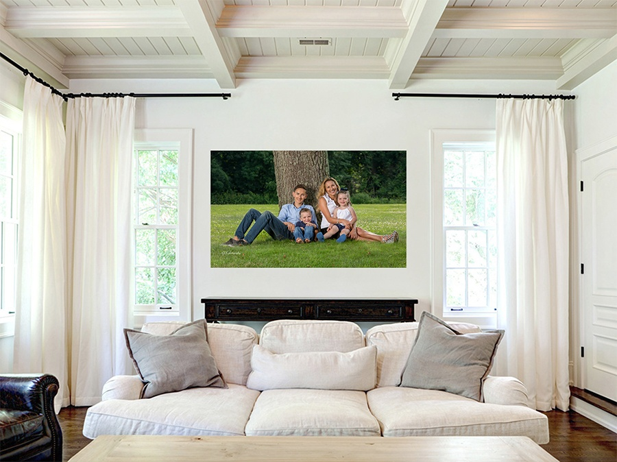 Monmouth County New Jersey photographer acrylic heirloom print