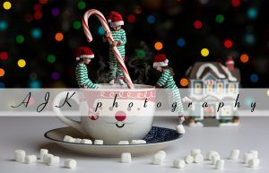 christmas hot chocolate composite