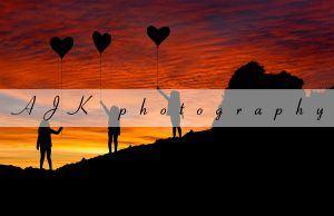 balloon silhouette composite